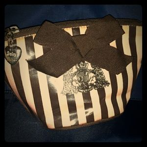 Rare JUICY COUTURE Scottie Dog Cosmetic Travel Bag